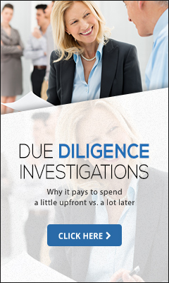 Due Diligence Investigations Banner